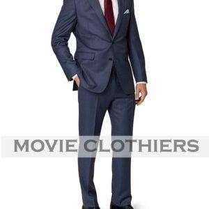 Blue spectre movie james bond suits