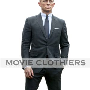 Daniel Craig Charcoal james bond skyfall suit