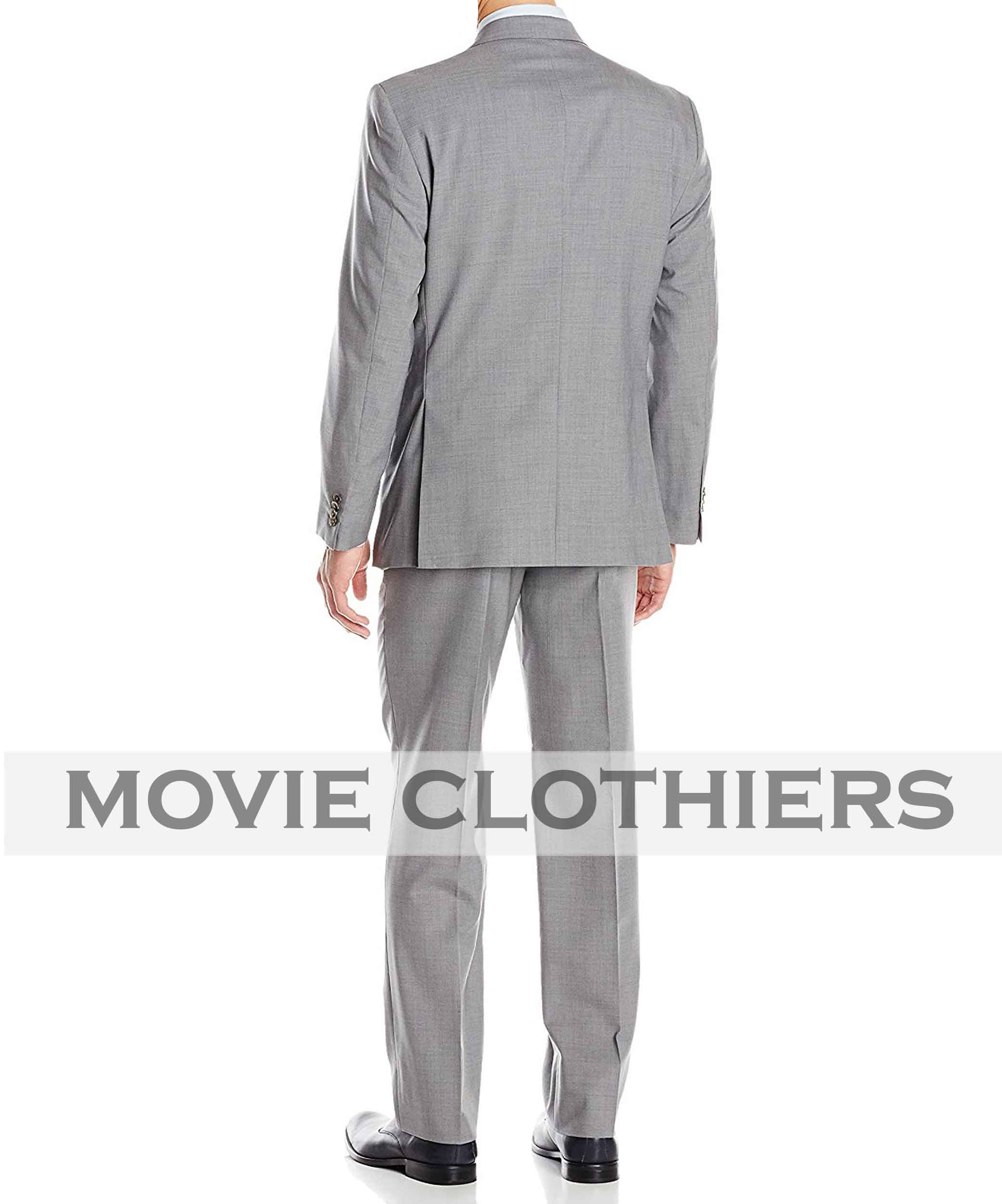 Daniel Craig Skyfall James Bond Light Grey Suit Movie