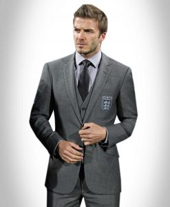 David Bekham Gret Three Piece Suit