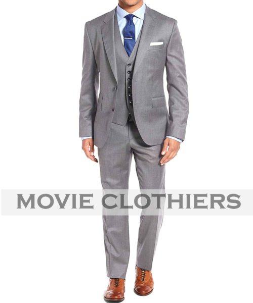 James Bond Goldfinger Grey Suit