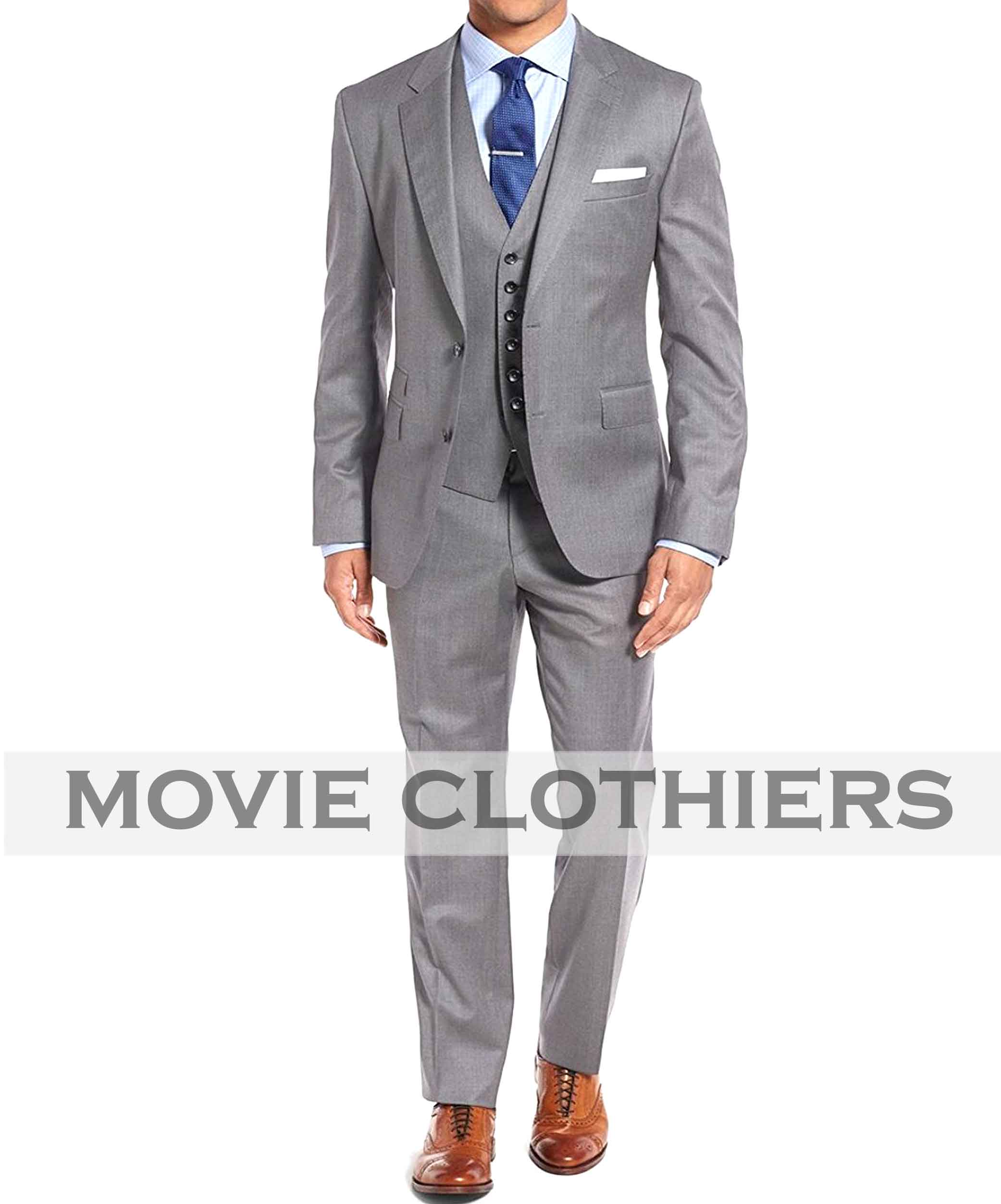James Bond Goldfinger Grey Suit