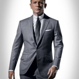 James Bond Grey Suit