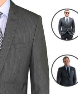 James Bond Spectre Stripe Suit