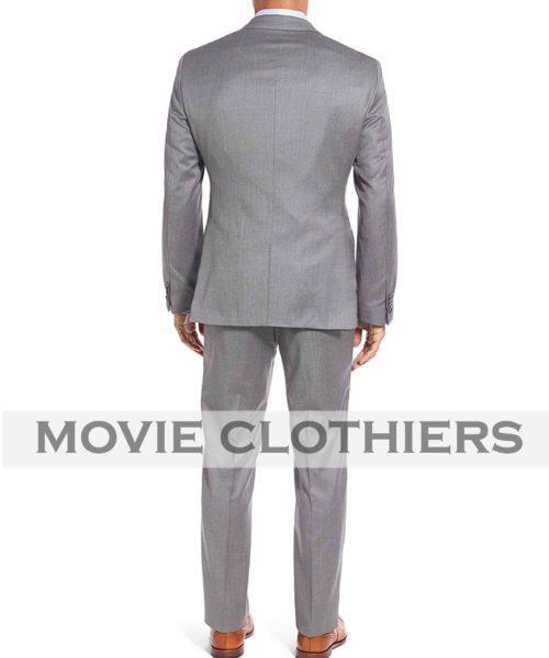 James bond Three Piece Goldfinger Grey Suit Replica