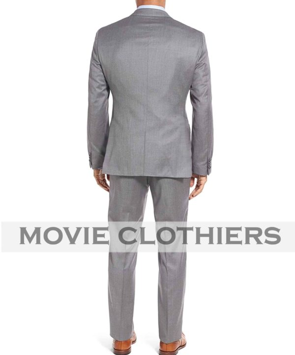 James bond Three Piece Goldfinger Grey Suit Replica