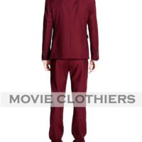 Ryan Gosling Burgundy Crazy Stupid Love Suit