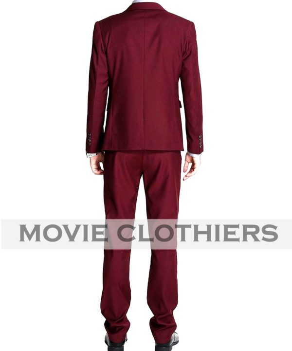 Ryan Gosling Burgundy Crazy Stupid Love Suit