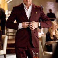 Ryan Gosling Maroon Suit