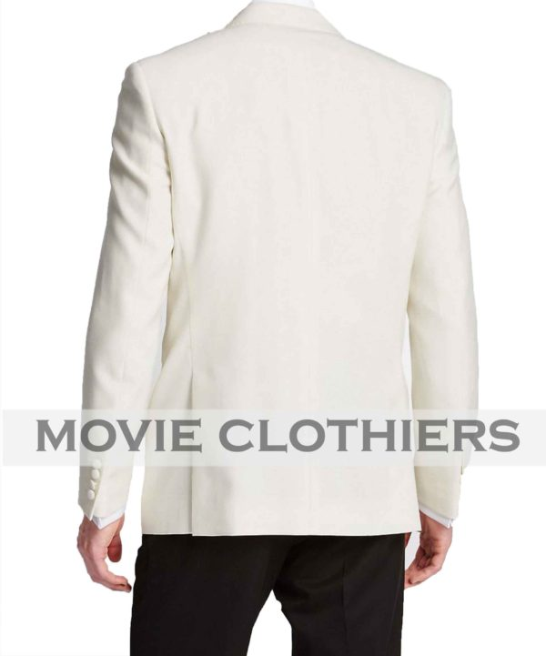 Sean Conner 007 James Bond Ivory Tuxedo Golddinger