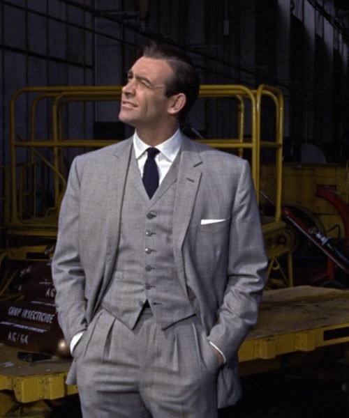 Sean Connery Goldfinger Suit