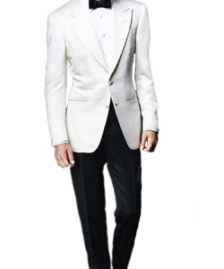 James Bond White Spectre Tuxedo
