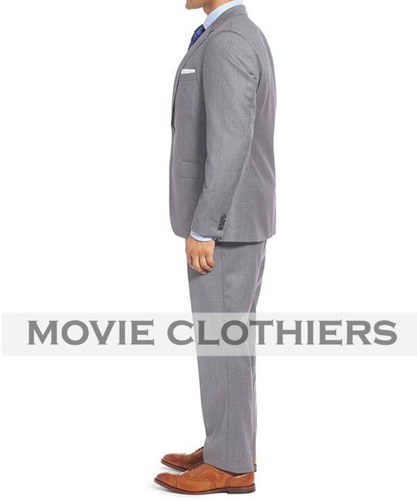 Three Piece Sean Connrey Gre Suit