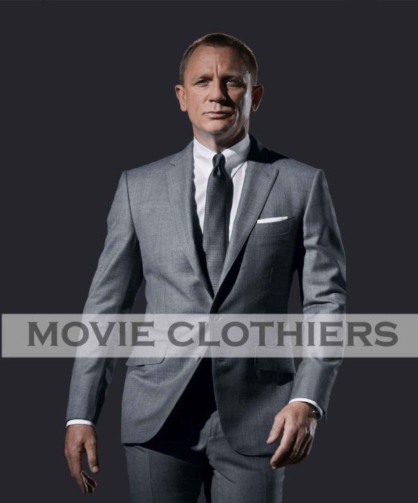 daniel craig james bond grey suit