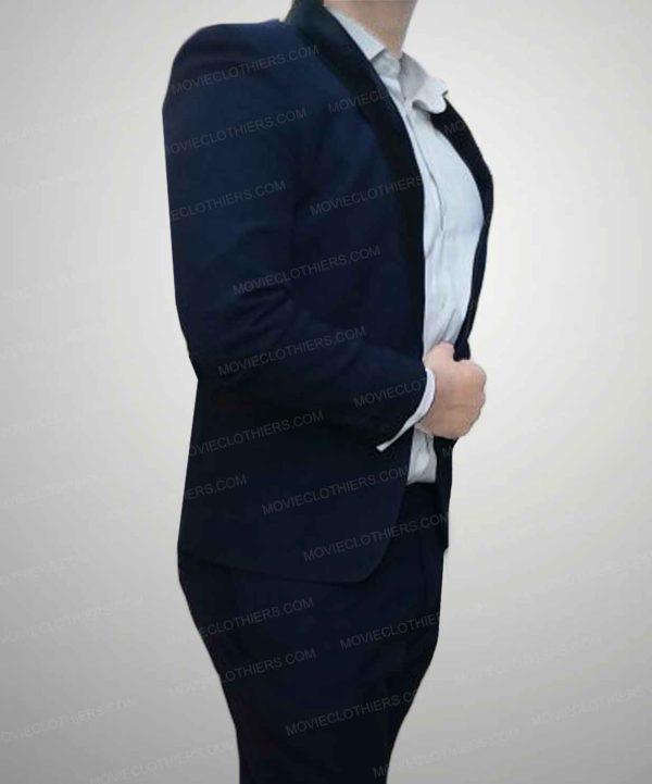 daniel craig navy blue tuxedo