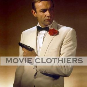 goldfinger james bond whtie tuxedo costume
