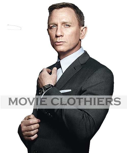 grey spectre movie james bond suits