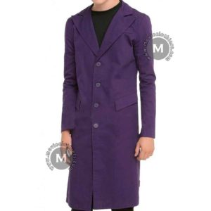 heath ledger joker trench coat