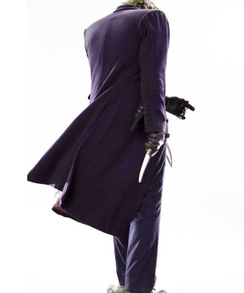 purple joker coat