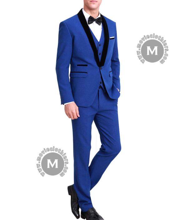 ryan gosling blue tuxedo