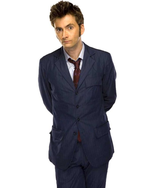 tenth doctor blue suit costume