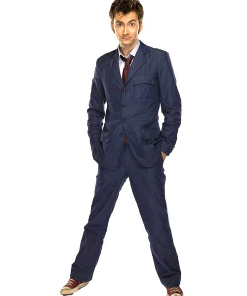 the tenth doctor blue suit