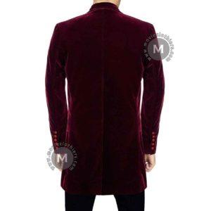 twelfth doctor red coat