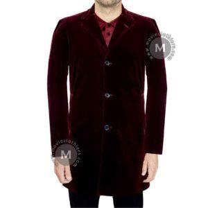twelfth doctor red velvet coat