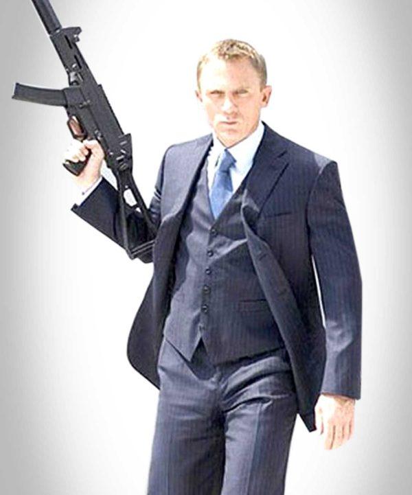 Casino Royale Blue Suit