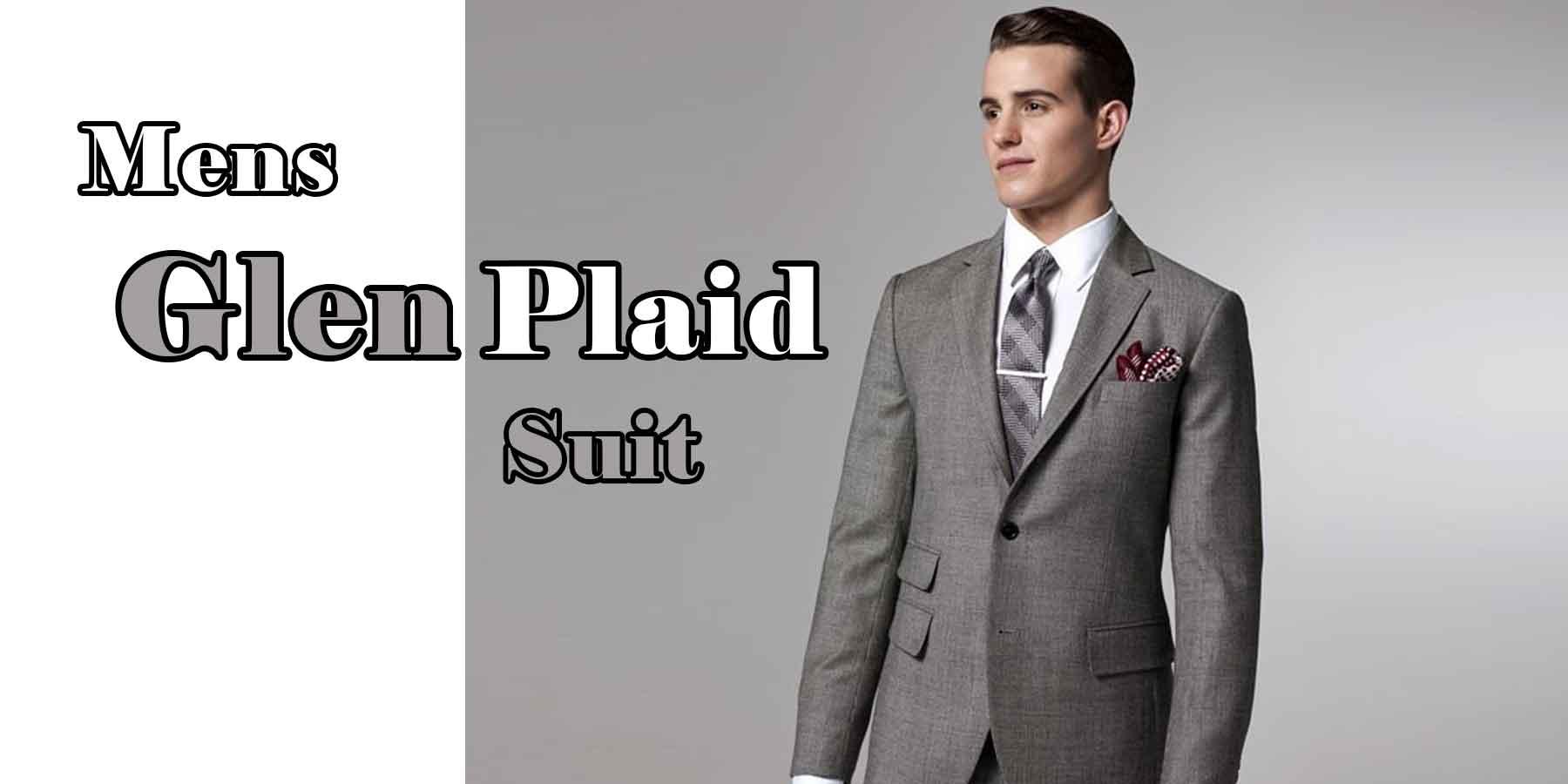 Mens-Glen-Plaid-suit