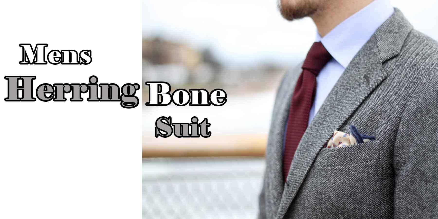 Mens-Herringbone-Suit