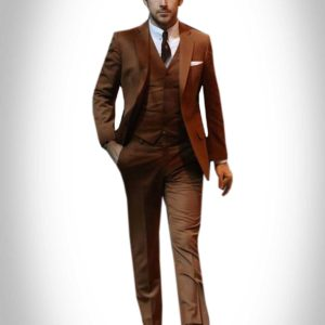 Ryan Gosling Brown Suit