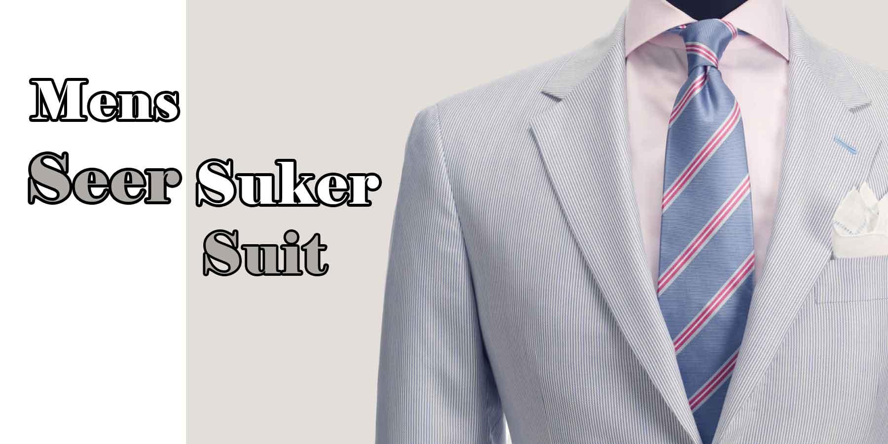 Seersuker-Suit