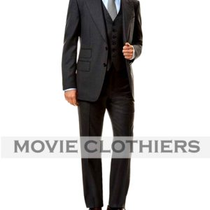daniel craig james bond spectre three piece suit