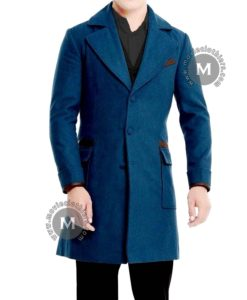 fantastic beasts blue newt scamander coat