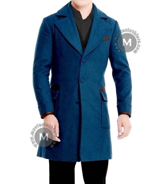 fantastic beasts blue newt scamander coat