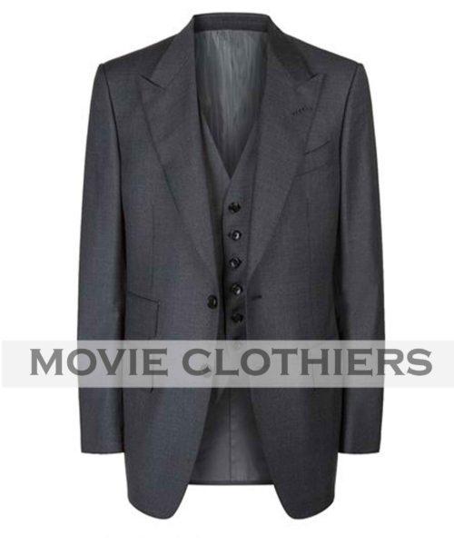 james bond three piece spectre navy windsor suit