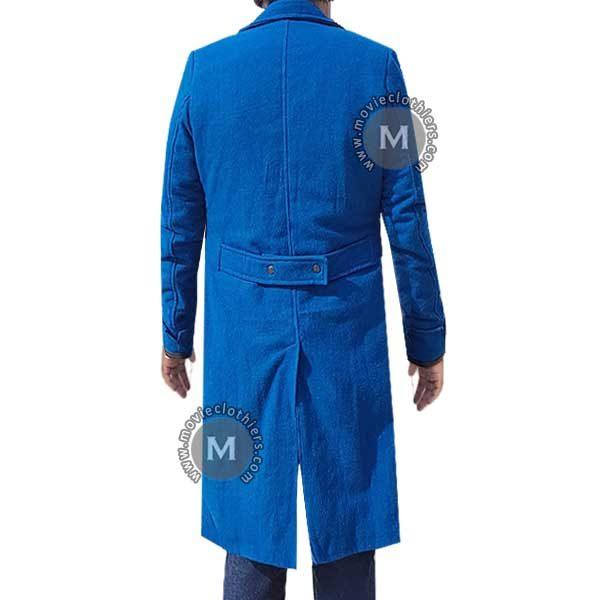 newt scamander blue coat