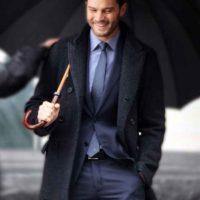 Christian Grey Coat