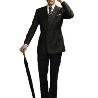 Colin Firth Kingsmen Suit