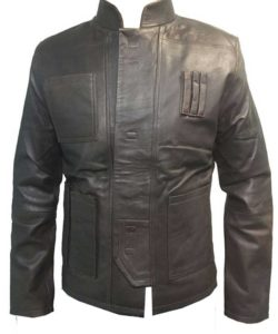 Harrison Ford han solo leather jacket