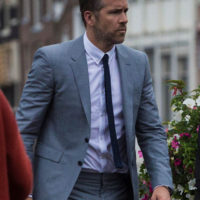 Ryan Reynolds is in Amsterdam for the filming of the film The Hi