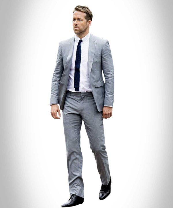 Hitman Bodyguard Ryan Renolds Suit