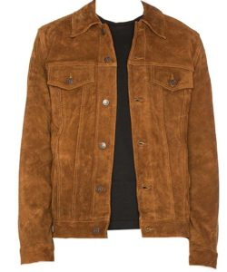 Huge Jackamn Logan Suede Jacket