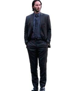 John Wick Grey Suit