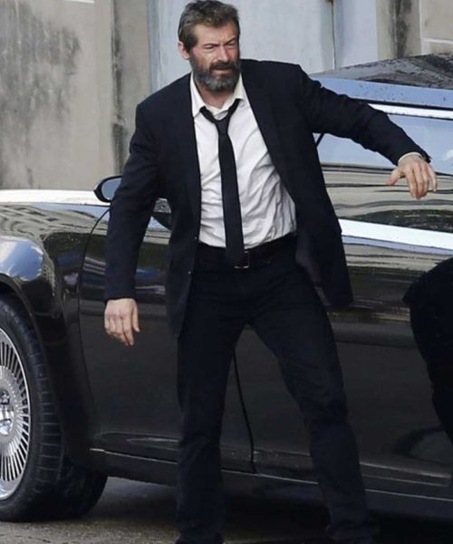Logan Black Suit
