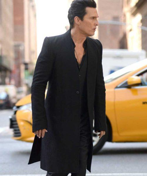 Matthew Mcconaughey Black Coat