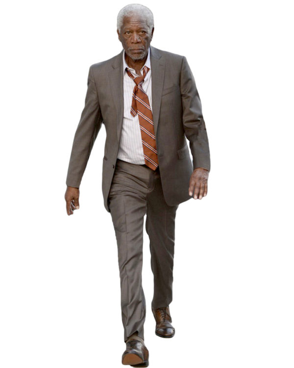 Morgan Freeman Suit