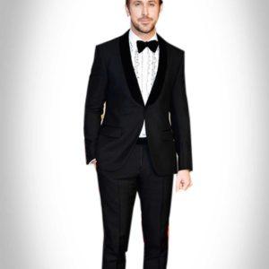 Ryan Gosling Black Oscar Tuxedo