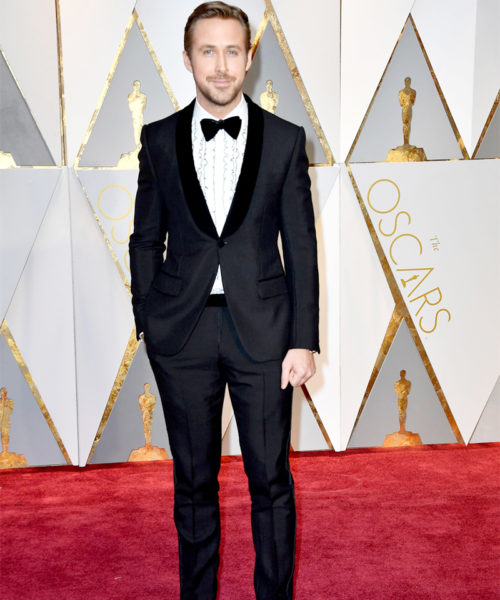Ryan Gosling Black Tuxedo